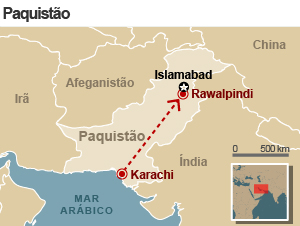 arte acidente avião paquistao 20/4 (Foto: arte g1)