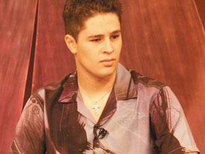 Pedro, filho do cantor sertanejo Leonardo, da dupla Pedro e Thiago (Foto: Zuhair Mohamad/O Popular)