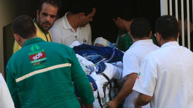 Cantor Pedro precisará ficar três dias em coma induzido (Foto: Cristiano Borges/O Popular)