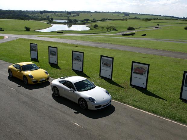 Sétime geração do Porsche 911 Carrera é lançada no Brasil nas versões Coupé e Cabriolet (Foto: Vinicius Nunes/Divulgação)