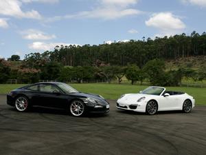 Os traços do Porsche 911 Carrera são cuidadosamente tratados desde o seu lançamento, em 1963 (Foto: Vinicius Nunes. Divulgação)