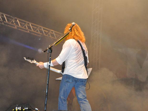 David Mustaine, Megadeth (Foto: Alex Trinta)
