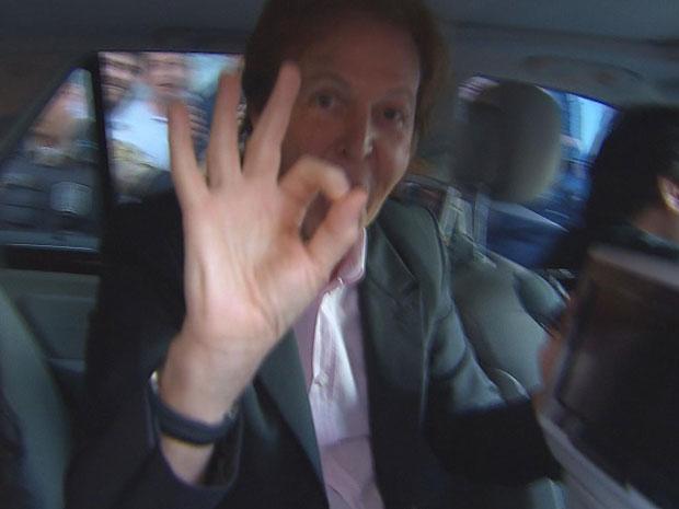 Paul McCartney (Foto: Reprodução / TV Globo)