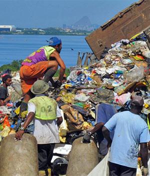 Gramacho, aterro sanitário, lixão (Foto: Janaína Carvalho/G1)