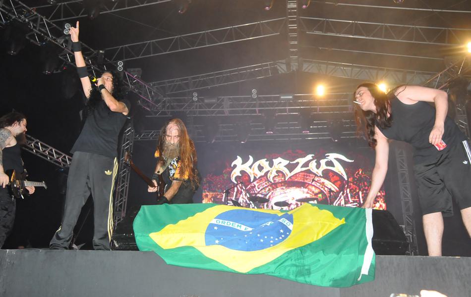 Última banda a se apresentar no Metal Open Air antes de seu cancelamento, Korzus toca em São Luís neste sábado (21)