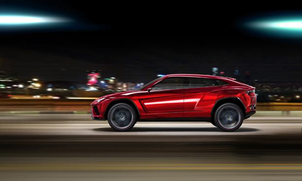 O conceito de SUV apresentado pela Lamborghini  (Foto: Divulgação)