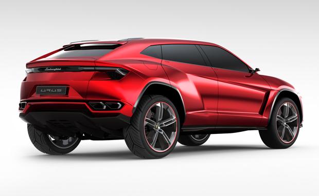 Urus, o carro conceito Lamborghini  (Foto: Divulgação)