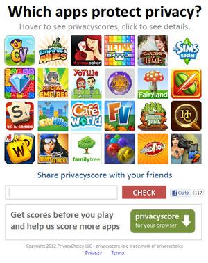 Ferramenta mede como os aplicativos e games do Facebook lidam com os dados dos usuários (Foto: Reprodução)