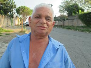 Agostinho diz que recebeu ficha  (Foto: Roney Domingos/ G1)