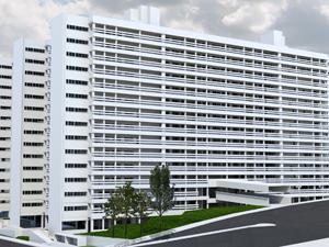 Projeção do condomínio Estevão Baião (Foto: Divulgação)