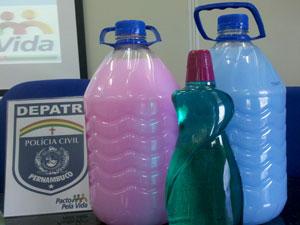 Produtos roubados eram receptados por quadrilha (Foto: Wanessa Andrade / Globo Nordeste)