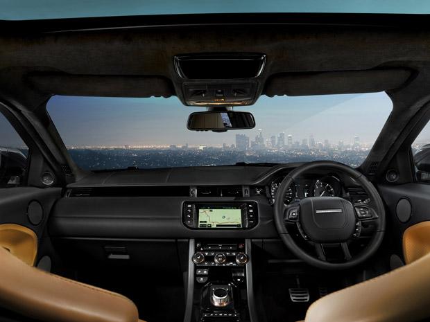 Range Rover Evoque by Victoria Beckham tem acabamento feiro a mão (Foto: Divulgação)