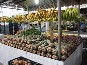 Mercado Público de Mangabeira em João Pessoa, Paraíba (Foto: Inaê Teles / G1)