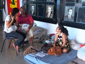 Professores ocupam AL em Salvador (Foto: Imagem/TV Bahia)