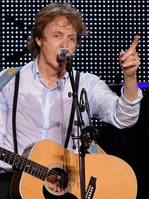 Paul McCartney faz mais um show no Brasil: quarta, em Florianópolis (Foto: Luna Markman/G1)
