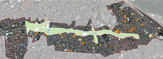 Perímetro da Operação Urbana Água Espraiada  (Foto: Reprodução)