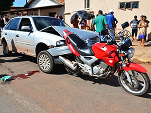 Policial perseguiu e trocou tiros com os suspeitos (Foto: Varlei Cordova/AgoraMT)