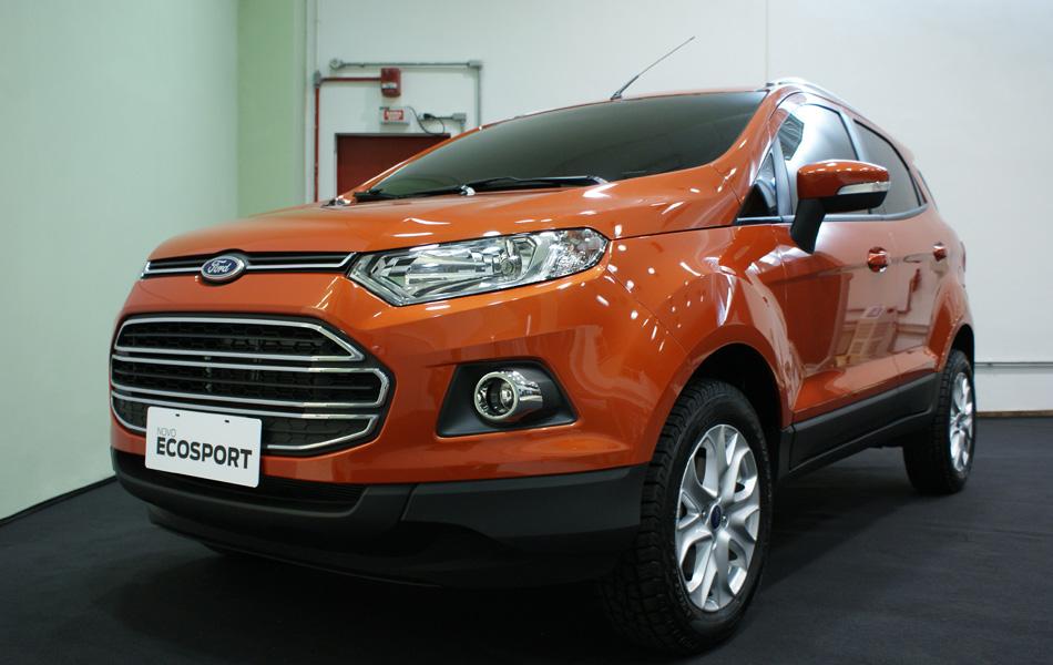 Depois da China, foi a vez da versão de produção do novo EcoSport ser apresentada na Bahia, no último dia 23 de abril
