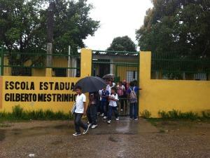 Escola Estadual Gilberto Mestrinho (Foto: Carlos Eduardo Matos/G1)
