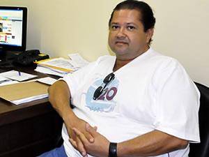 Frei foi preso após ser flagrado em motel com menor (Foto: Kelly Martins/G1)