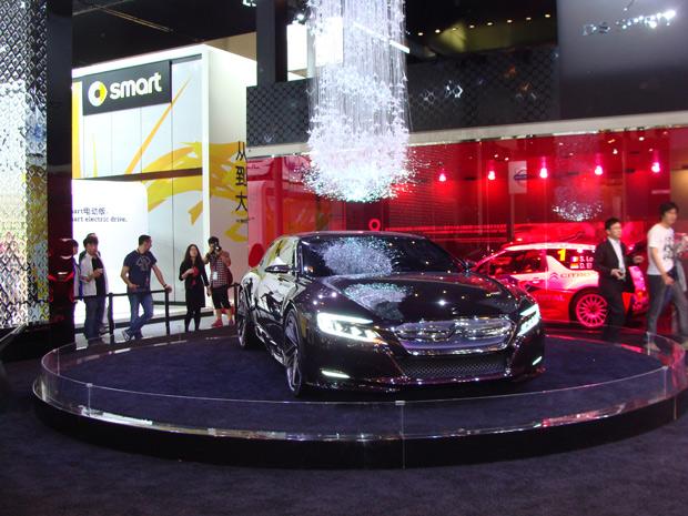 Citroën DS Numéro 9 será vendido e produzido, primeiramente, na China (Foto: Paula Ramón/G1)