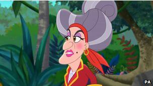 g1 mulher de ozzy vive mãe de capitão gancho em animação da disney