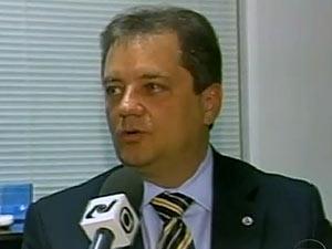 O ex-diretor da Delta Claudio Abreu, preso nesta quarta-feira (25) (Foto: TV Globo/Reprodução)