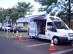 Unidade móvel do Daae (Foto: Divulgação)