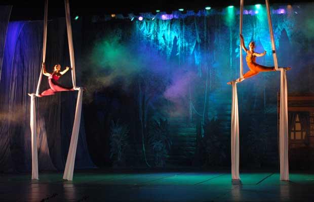 Espetáculo de dança do festival da AMDC, em Campinas (Foto: Divulgação)
