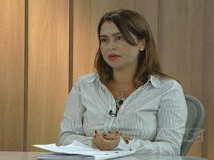 Delegada falou sobre os direitos do consumidor (Foto: Reprodução: TV Mirante)
