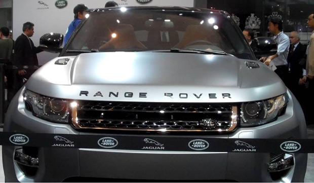 A ex-Posh Spice, Victoria Beckham, desembarcou em Pequim para promover a sua edição especial do Range Rover Evoque (Foto: Paula Ramón/G1)