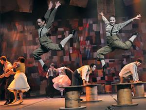 Espetáculo do festival de dança da AMDC, em Campinas (Foto: Divulgação)