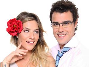 Giovanna Ewbank e Joaquim Lopes encenam peça na Paraíba (Foto: Divulgação)