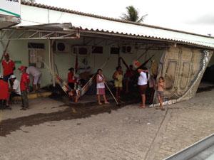 Incra na Paraíba é ocupado por MST (Foto: Walter Paparazzo/G1)