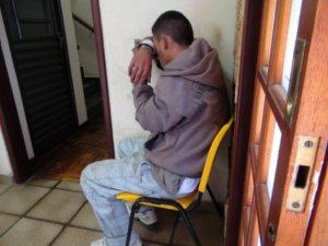 Menor disse que queria roubar qualquer coisa para ganhar dinheiro (Foto: Eduardo Guidini/G1)