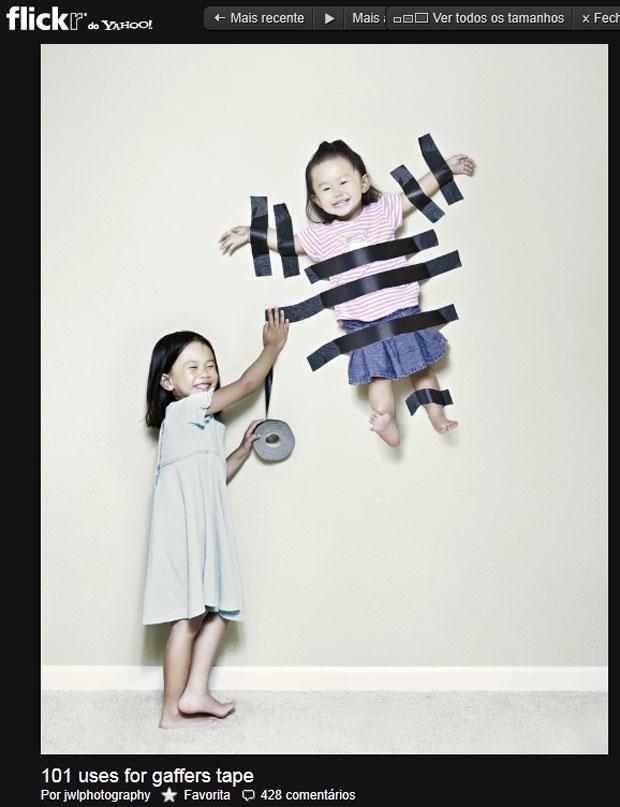 As meninas Kristin e Kayla têm um blog com as fotos feitas pelo pai (Foto: Reprodução/Flickr)