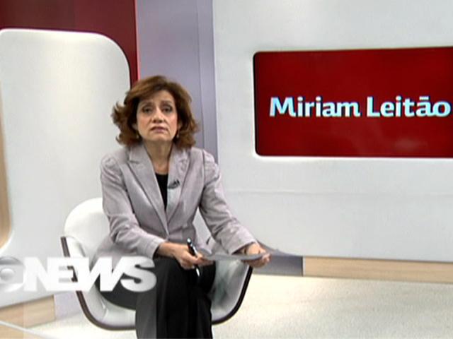 Miriam Leitão (Foto: reprodução Globo News)