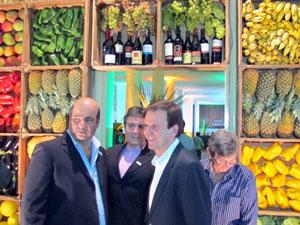 Comemoração dos 50 anos da Cadeg contou com a presença do prefeito Eduardo Paes (Foto: Christiano Ferreira/G1)