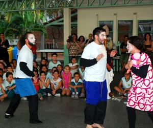 Grupo participa do Teatro do Oprimido em Hortolândia, SP (Foto: Divulgação / Prefeitura Hortolândia)