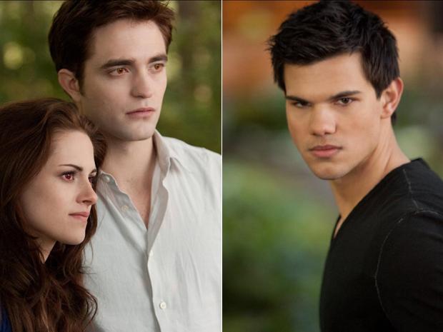 Kristen Stewart, Robert Pattinson e Taylor Lautner aparecem em imagens do filme 'Amanhecer - parte 2', da saga Crepúsculo' (Foto: Divulgação)