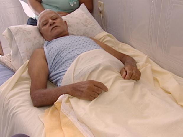 Pascoal Pereira foi vítima de bala perdida, no Espírito Santo (Foto: Reprodução/ TV Gazeta)