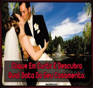 Aplicativo que promete adivinhar a data do casamento do usuário (Foto: Reprodução)