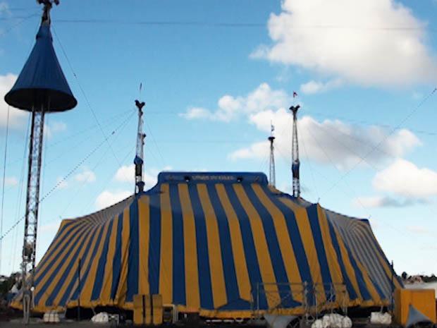 cirque du soleil (Foto: Gabriel Gonçalves/G1)