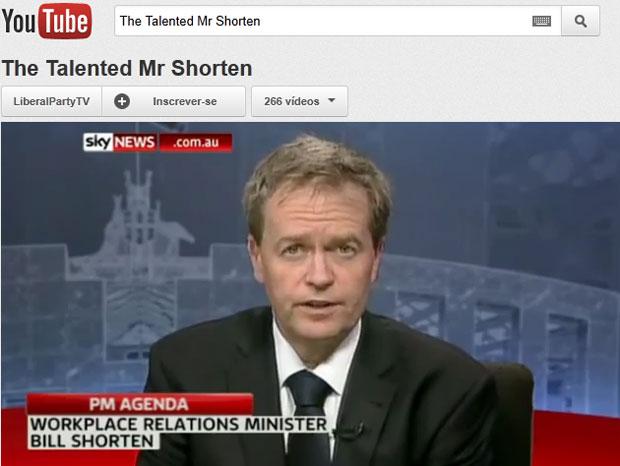 Bill Shorten demonstrou fidelidade 'cega' à primeira-ministra durante entrevista (Foto: Reprodução/Youtube)