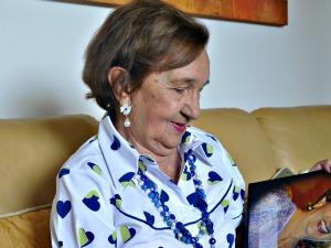 Dona Odete Muzzi, de 83 anos (Foto: Tatiane Queiroz/ G1 MS)