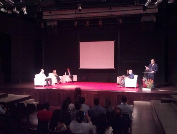 Evento discute como produzir propaganda dirigida à crianças e adolescentes (Foto: Pedro Cruz/G1)
