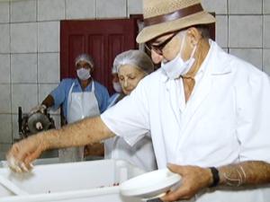 Festa da Linguiça de Maracaju começa nesta sexta-feira em MS (Foto: Reprodução/TV Morena)