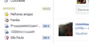 tela facebook grupos (Foto: Reprodução)