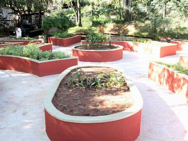 Jardim Sensorial, uma das atrações do Jardim Botânico, foi inaugurado este ano.  (Foto: Divulgação)