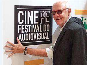 Ney Latorraca, um dos homenageados do Cine PE (Foto: Lorena Tabosa/Globo Nordeste)